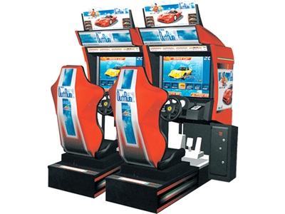 borne arcade outrun